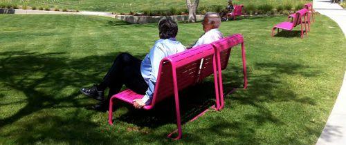 A new study by UCLA Luskin researchers recommends more parks in L.A. County for senior citizens. Flickr/Waltarrrr