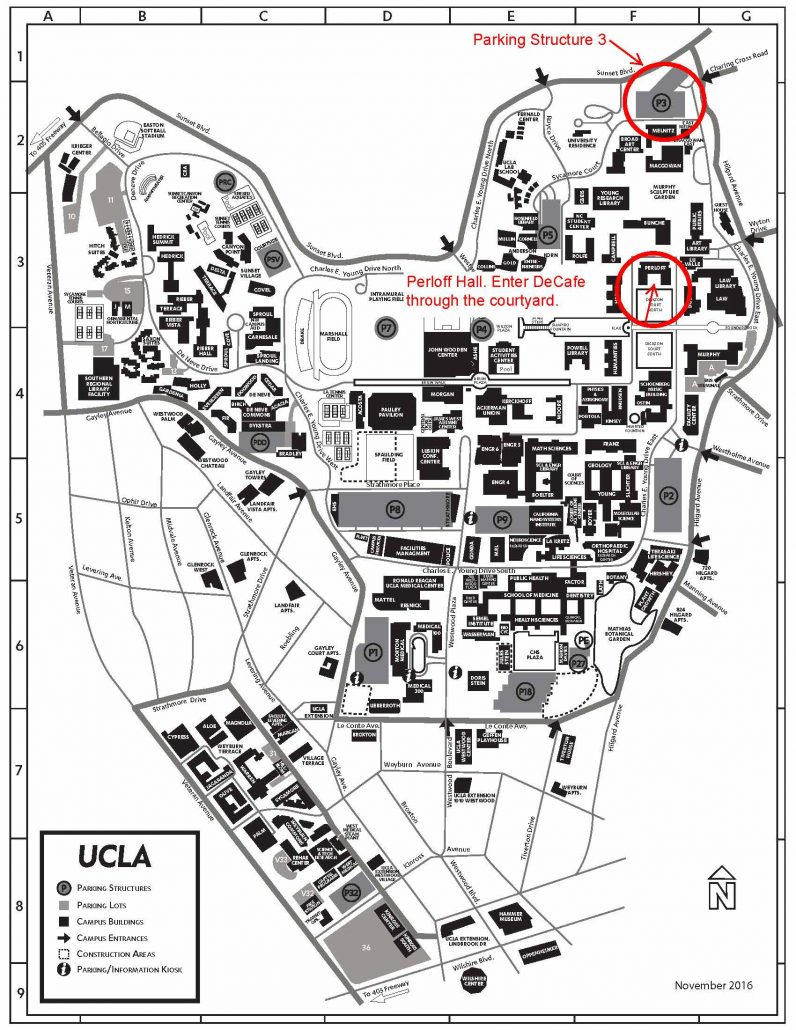 Image Result For Ucla Map Parking