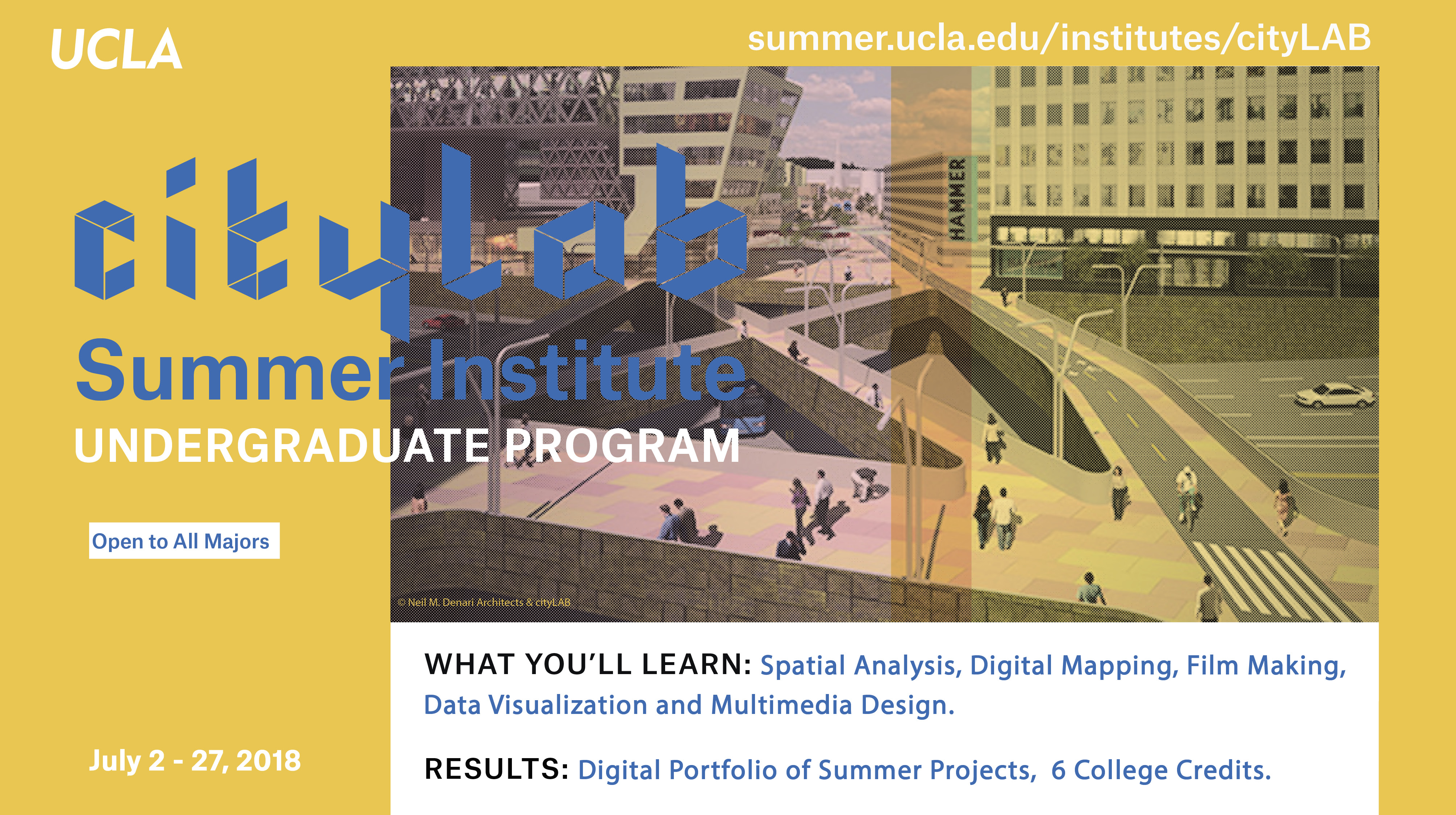 cityLAB Summer Insute - UCLA Luskin on ucla public affairs, ucla anderson, ucla department of social work,