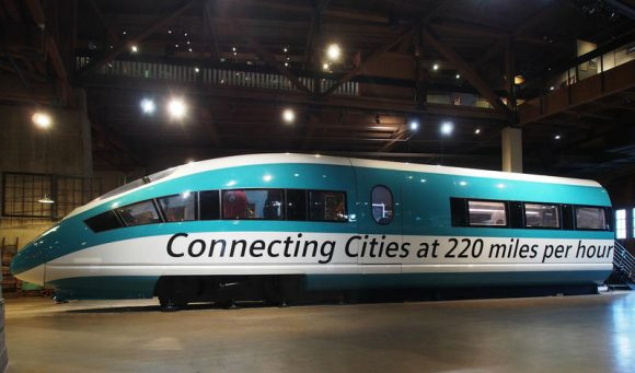 Image of high-speed rail train