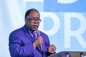 "The region's response to homelessness will ""define our civic legacy in the eyes of future generations,"" says Los Angeles County Supervisor Mark Ridley-Thomas. Photo by Les Dunseith"