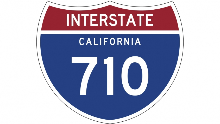 image of Interstate 710 signage