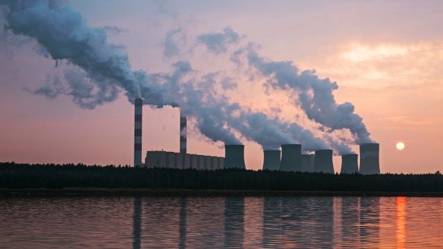 image of polluting factory