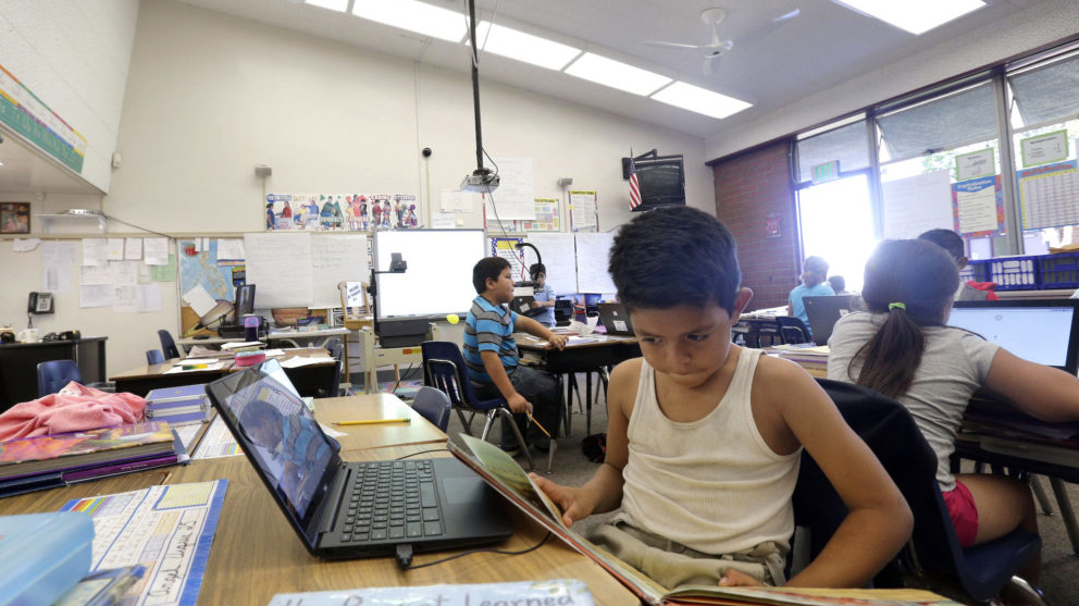 Park Links Heat to Test Performance in Classrooms - UCLA ...